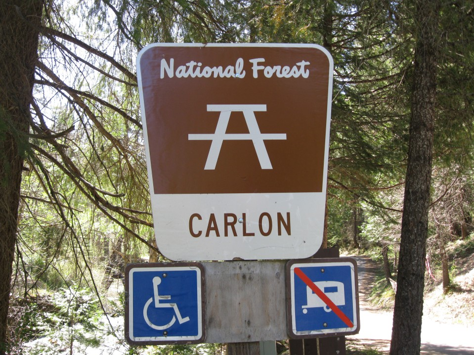 A sign near the Day Use area.