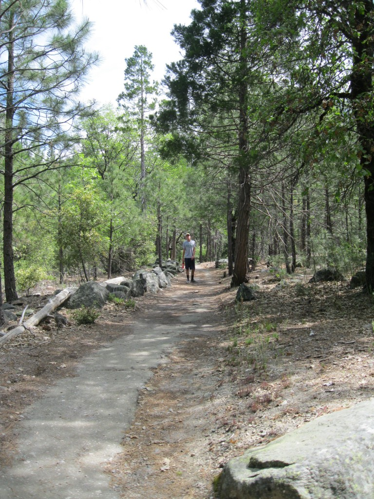 Trail on Southside Drive.