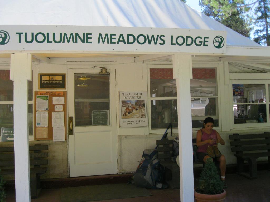 Tuolumne Meadows Lodge.