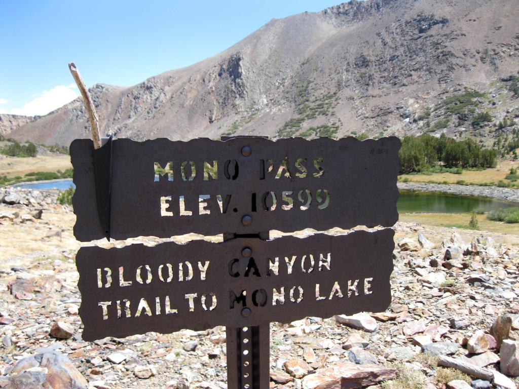Near Yosemite's border.
