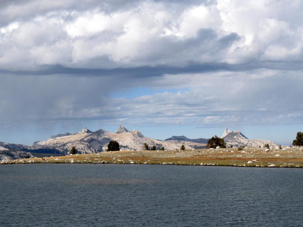 Cockscomb, Unicorn Peak, Echo Peak, Cathedral Peak