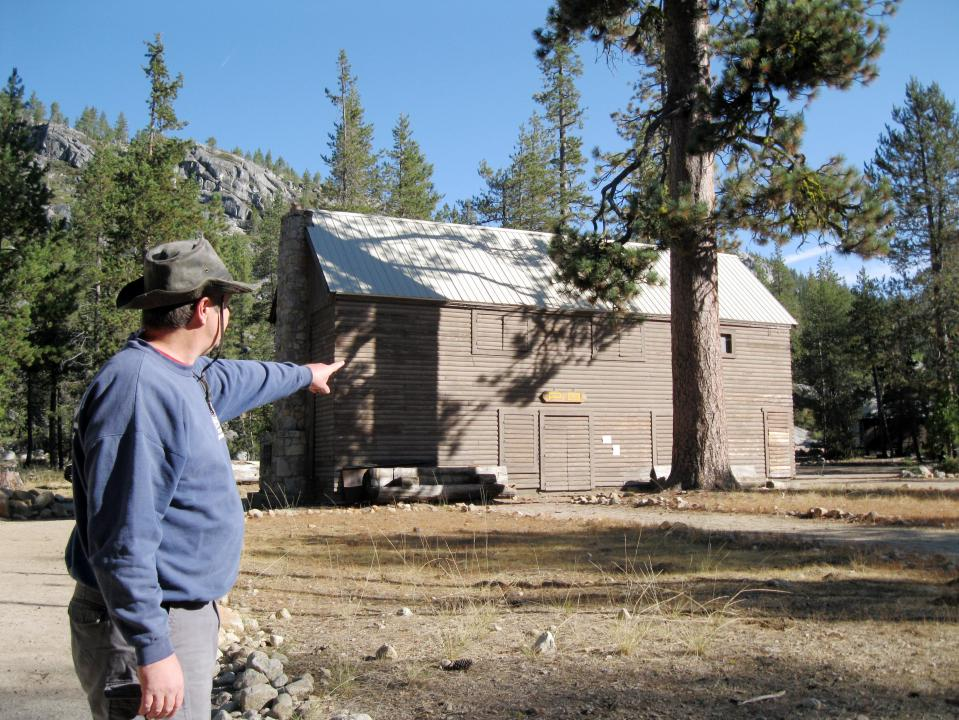 The Trading Post is where Chris worked one summer.