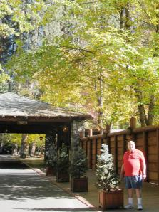 During a recent visit, Dad took me to lunch at the Ahwahnee Hotel.