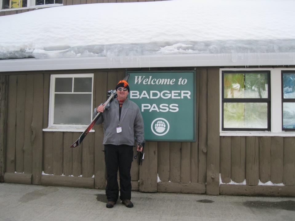 Badger Pass.  February, 2011.