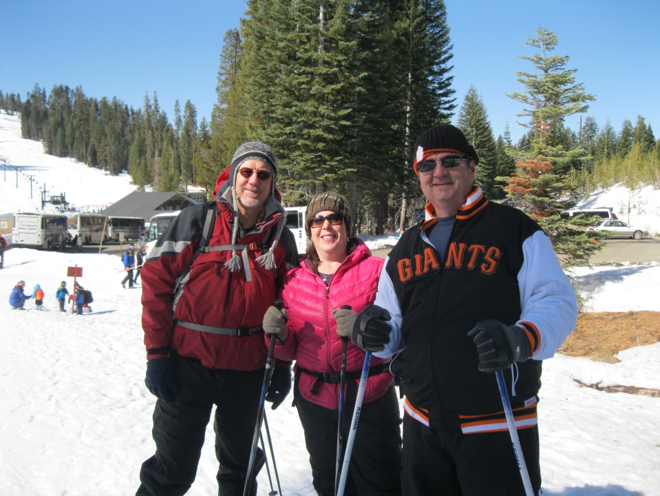 Andy, Maria, Chris.  Just starting out on the trail.