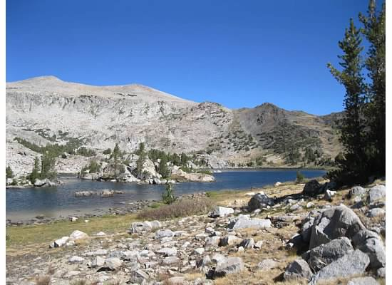 Approaching Lower Granite Lake.