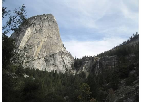 Liberty Cap and Nevada Fall