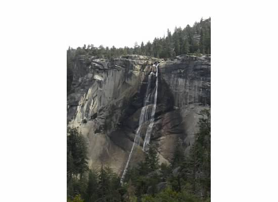 Nevada Fall, one mile up the trail.