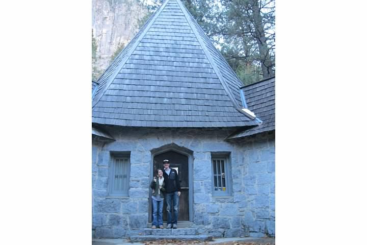 LeConte Memorial Lodge, designated a national historic landmark.