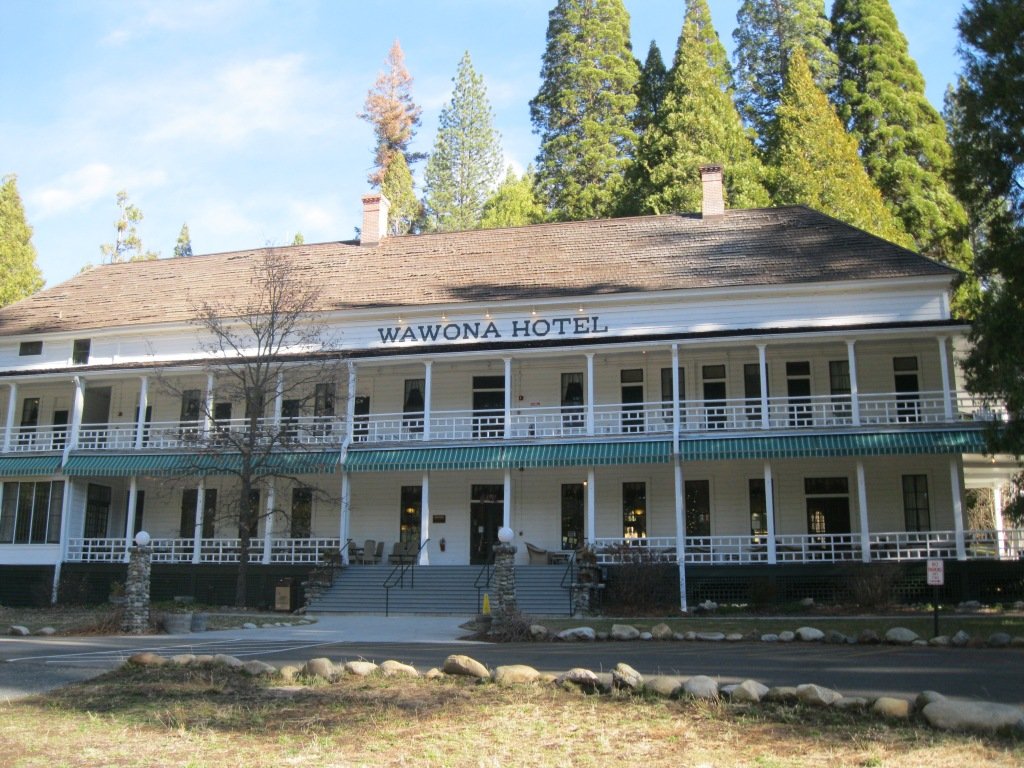 The historic Wawona Hotel.