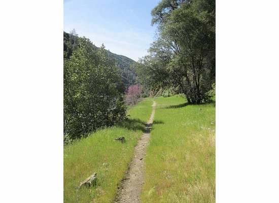 The narrow trail.