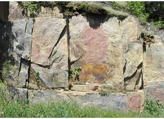 My favorite granite wall.