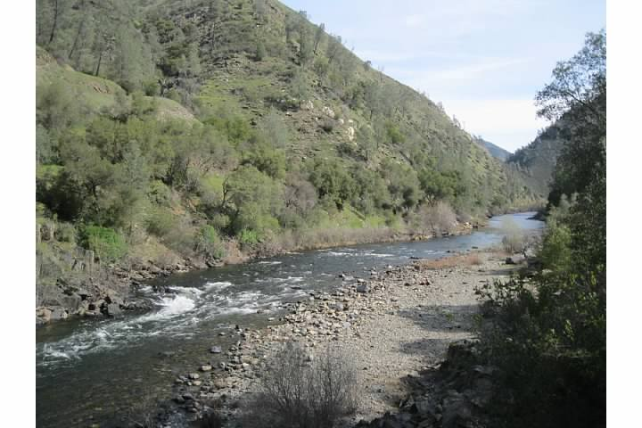 The Merced River.