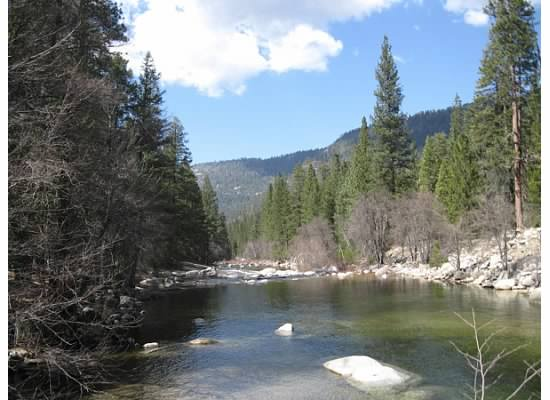 South fork of the Merced River.