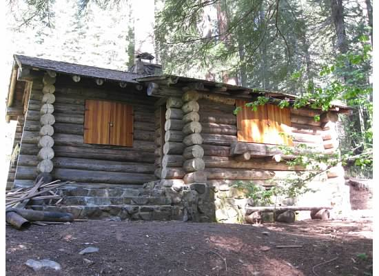 Russell Cabin.  Photo taken July 1, 2011