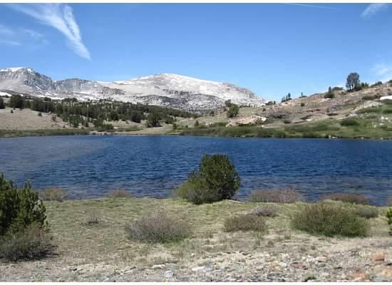 Summit Lake just outside of Yosemite's boundary.