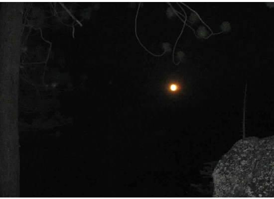 A full moon.