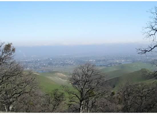 Underneath a layer of fog sits that City of Antioch.