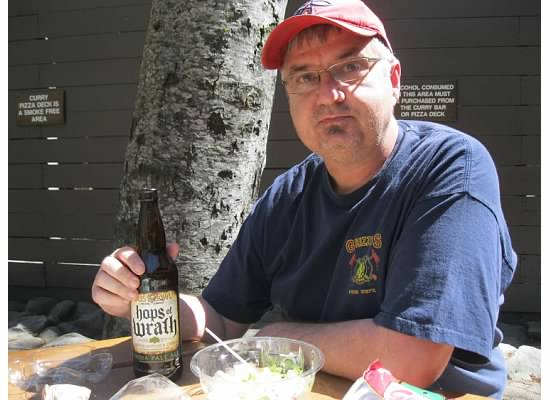 Day 1 of Retirement: Picnic in Yosemite Valley.