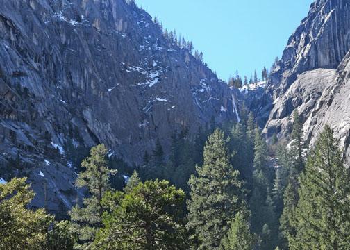 Illilouette Fall and Illilouette Gorge