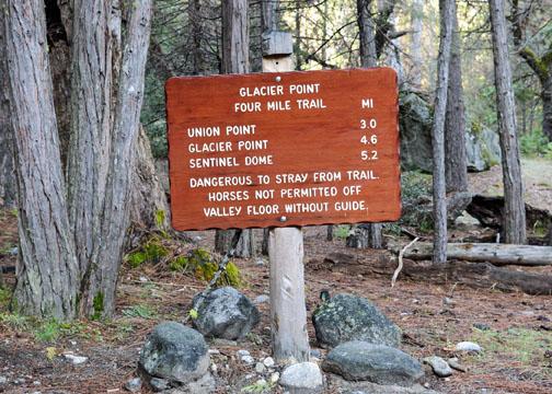 Four Mile Trail, Union Point, Yosemite