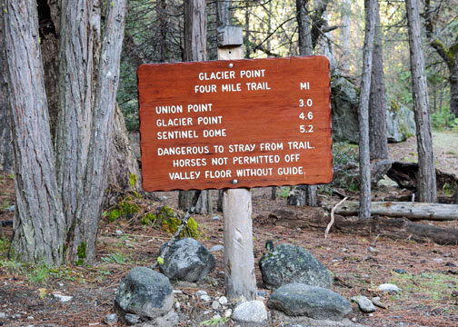 Four Mile Trail, Union Point, Yosemite