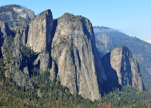 Cathedral Rocks, Four Mile Trail, Yosemite