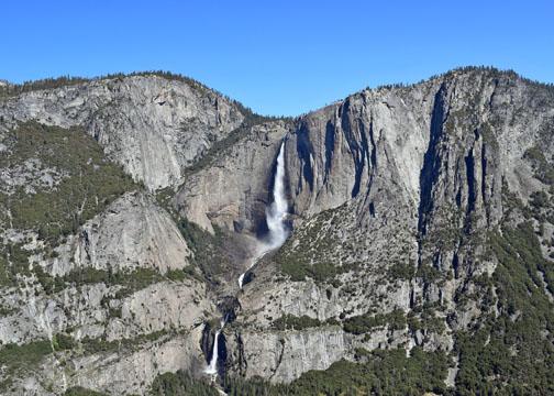 Yosemite Falls, Four Mile Trail