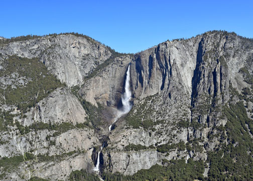 Yosemite Falls, Four Mile Trail