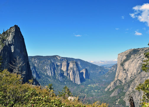 Four Mile Trail, Sentinel Rock, Cathedral Rocks, Yosemite Valley, El Capitan, Yosemite