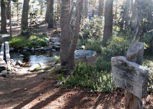 JMT, Ansel Adams Wilderness