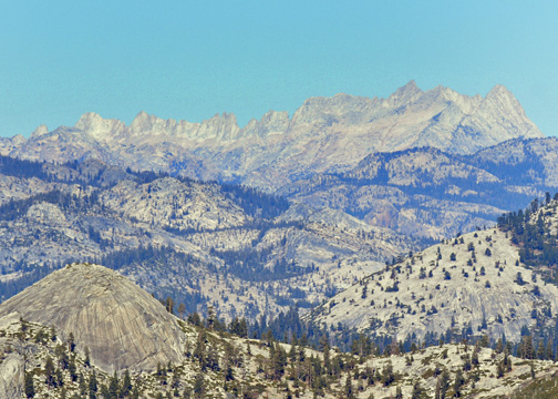 Horizon Ridge, Ostrander Lake, Yosemite